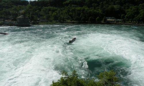 Zdjęcie SZWAJCARIA / Granica Kantonow Szafuza i Zurich / Rheinfall / Moje wedrowanie