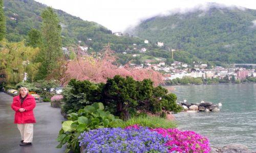 SZWAJCARIA / Jezioro Genewskie / Montreaux / Promenada