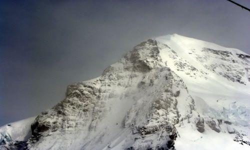 SZWAJCARIA / Alpy Berneńskie / Jungfraujoch / Mnich