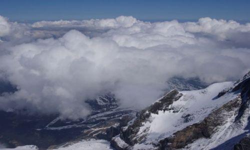 Zdjecie SZWAJCARIA / Jungfraujoch / Jungfraujoch / Widok z 3454 m