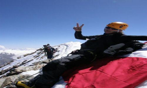 Zdjecie SZWAJCARIA / szczyt / na granicy Wloch i Szwajcarii / Matterhorn