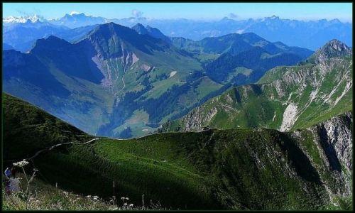 Zdjecie SZWAJCARIA / - / Moleson (2002 m) / Szwajcarskie widoki