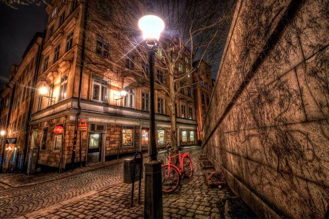 Zdjęcia: Stockholm, Stockholm, Stockholm by night, SZWECJA