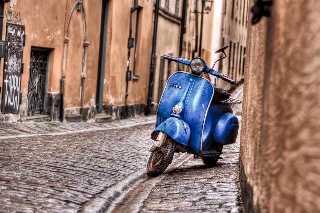 Zdjęcia: Stockholm, Stockholm, Dla wszystkich fanów skuterów Vespa :), SZWECJA