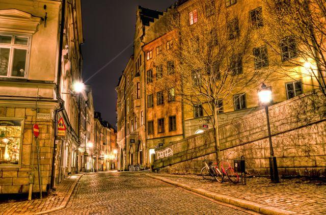 Zdjęcia: Stockholm, Stockholm, Stockholm by night series, SZWECJA