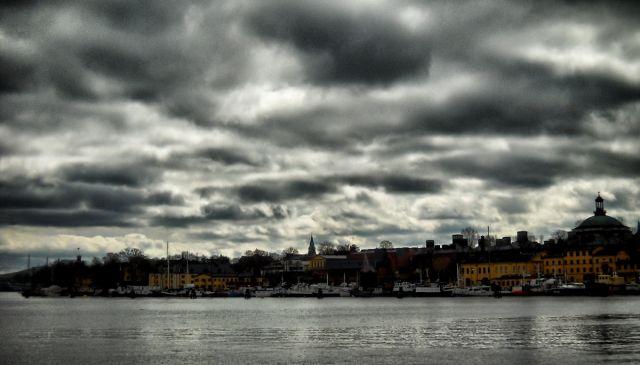 Zdjęcia: Sztokholm, Nybrokajen, SZWECJA