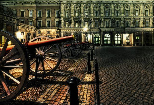 Zdjęcia: Stockholm, Stockholm, Stockholm Palace night, SZWECJA