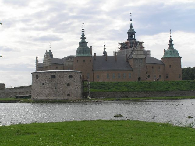 Zdjęcia: Kalmar, Pld-wsch Szwecja., Zamek w Kalmarze., SZWECJA