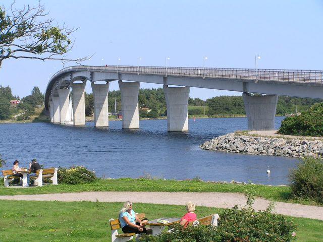 Zdjęcia: Mocklosund., Archipelag Blekinge, Most., SZWECJA