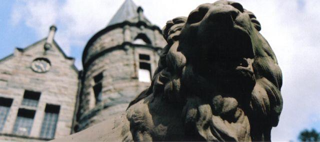 Zdj�cia: vaxjo, szwecja po�udniowa, zamek w Vaxjo, SZWECJA
