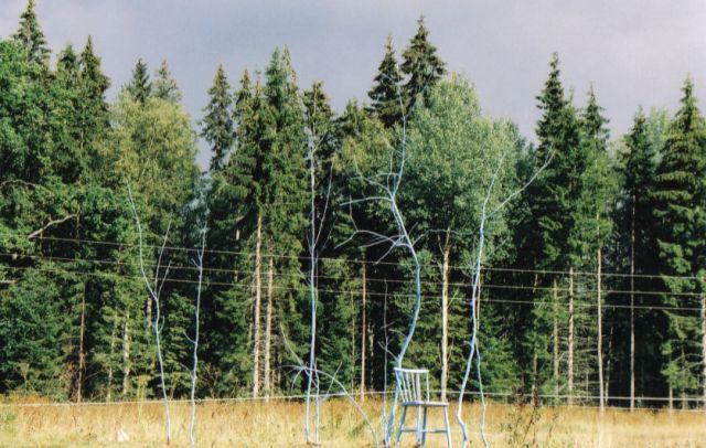 Zdjęcia: przy drodze, południowo-zachodnia szwecja, surrealizmy szwedzkich traktów, SZWECJA