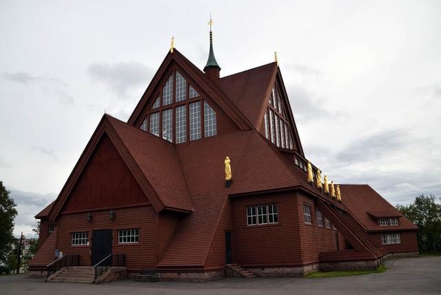 Zdjęcia: Kiruna, Kiruna, Kościół w Kirunie, SZWECJA