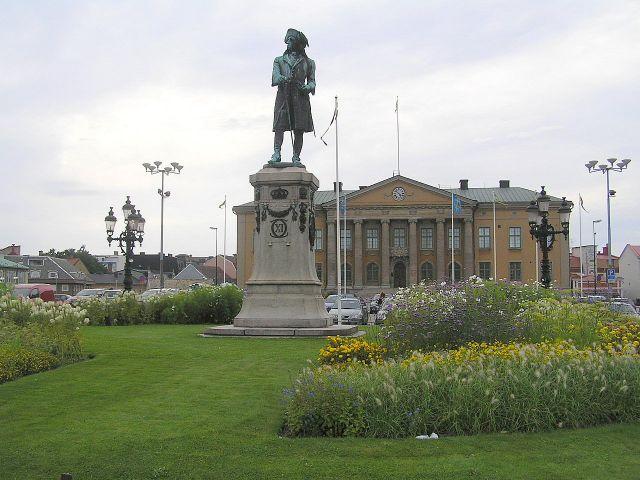 Zdjęcia: Karlskrona, Południowa Szwecja., Król Karol XI., SZWECJA