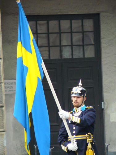 Zdjęcia: Sztokholm, Zmiana warty2, SZWECJA
