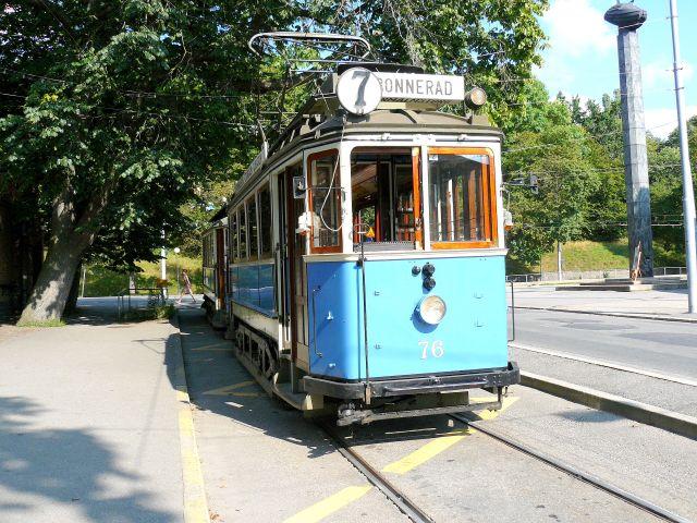 Zdjęcia: Sztokholm, tramwaj, SZWECJA