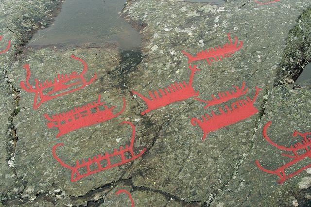 Zdjęcia: Norrkoping, Wyryte w skale 7 tysiecy lat temu..., SZWECJA