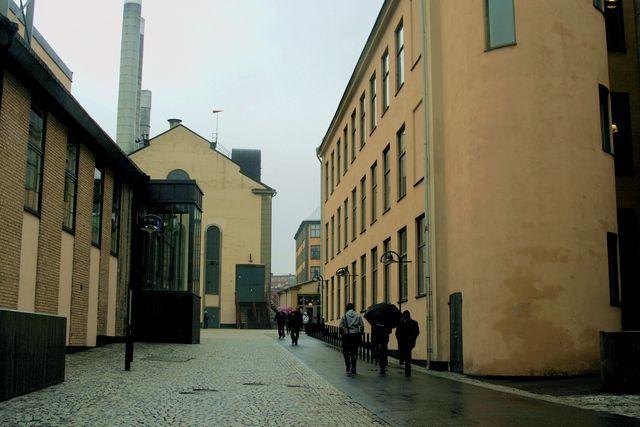 Zdjęcia: Norrkoping, Industrial landscape4, SZWECJA