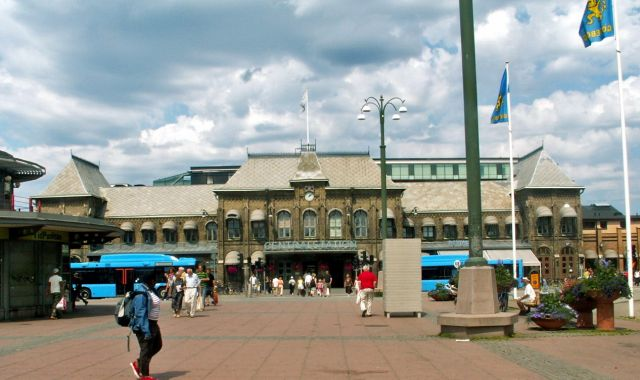 Zdjęcia: Geoteborg, Skandynawia, Dworzec, SZWECJA