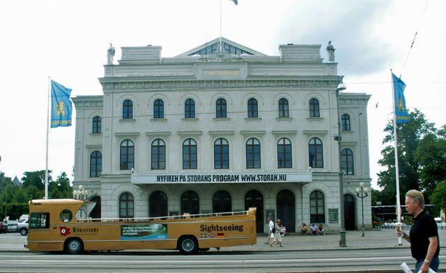 Zdjęcia: Geoteborg, Skandynawia, Teatr, SZWECJA