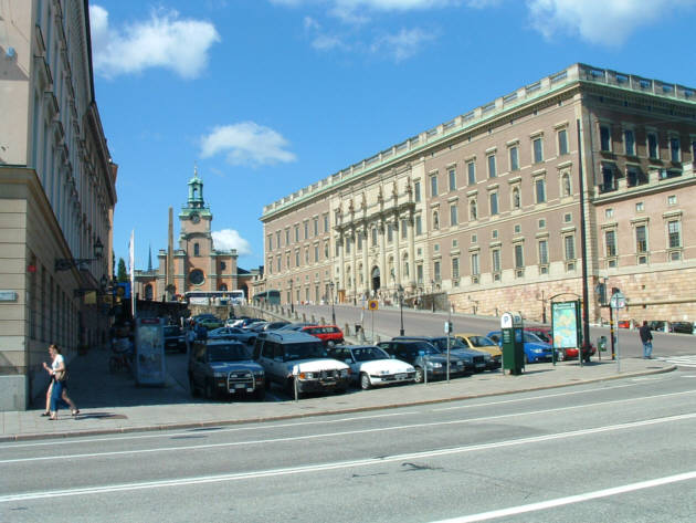 Zdjęcia: Sztokholm, Pałac Królewski, SZWECJA