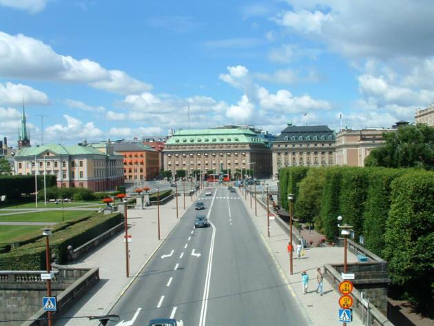 Zdjęcia: Sztokholm, ulice Sztokholmu, SZWECJA