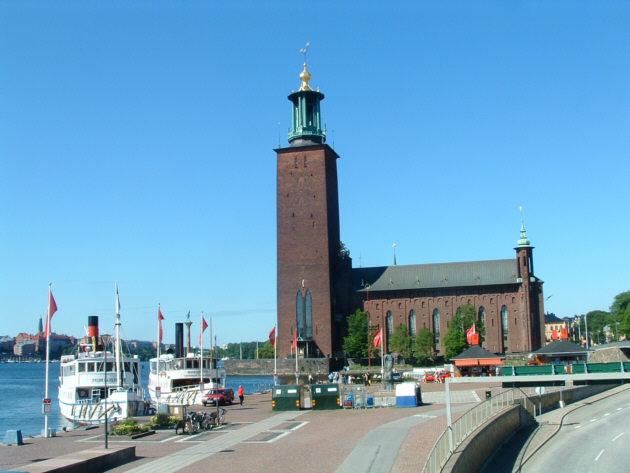 Zdjęcia: Sztokholm, Ratusz, SZWECJA
