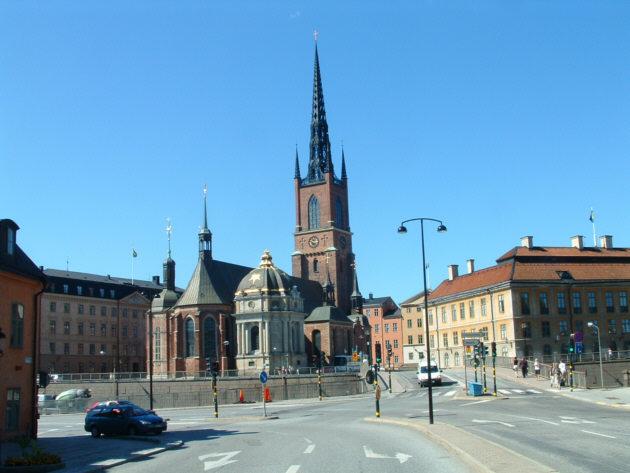 Zdjęcia: Sztokholm, Katedra, SZWECJA