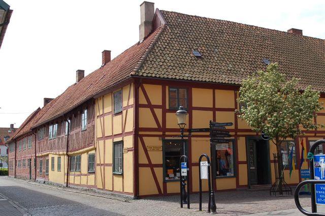 Zdjęcia: Ystad, Skania, Dom ryglowy, SZWECJA