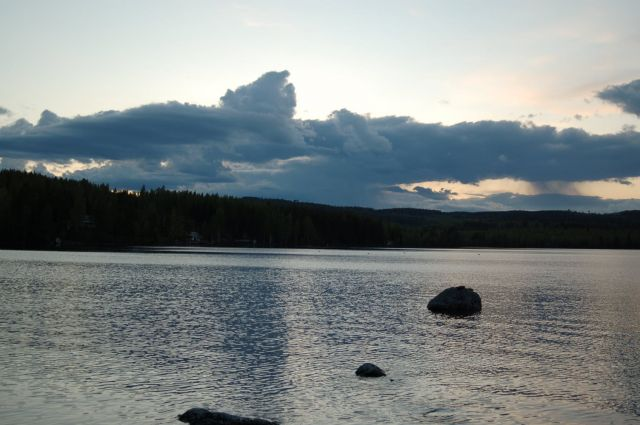 Zdjęcia: Rengsjo, Halsingland, Jezioro Storsjon, SZWECJA