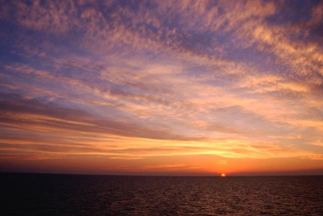 Zdjęcia: Bałtyk, zachód na otwartym morzu, SZWECJA