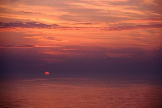 Zdjęcia: Bałtyk, wschodzące słońce, SZWECJA