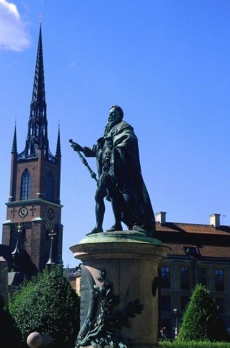 Zdjęcia: Sztokholm - Gamla Stan, pomniki, kościoły... tyle do oglądania, SZWECJA