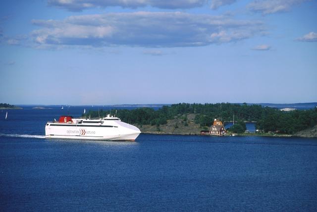 Zdjęcia: Nynashamn, takie też są promy, SZWECJA