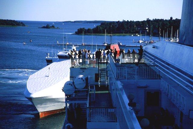 Zdjęcia: Nynashamn, manewry w porcie, SZWECJA