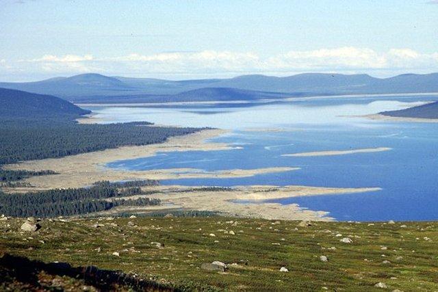 Zdjęcia: na szlaku, Lappland, susza, SZWECJA