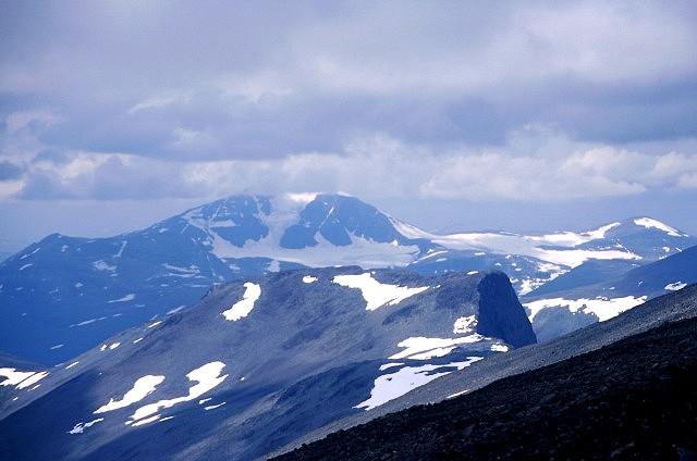 Zdj�cia: pod Kebnekaise, Lappland, masyw Salki, SZWECJA