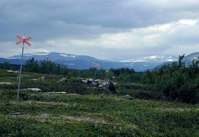 Zdjęcia: Park Narodowy Abisko, Lappland, szlak zimowy, SZWECJA