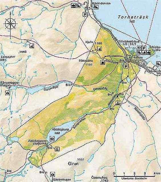 Zdjęcia: Park Narodowy Abisko,  Park Narodowy Abisko, SZWECJA