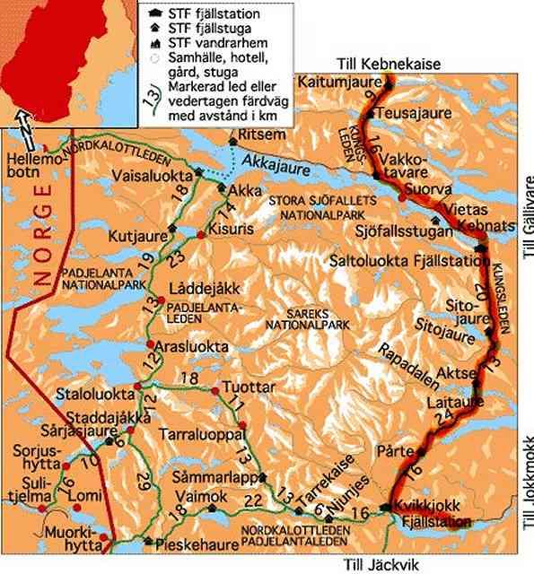Zdjęcia: Kungsleden od Kajtumjaure do Kvikkjokk, moja trasa 2, SZWECJA