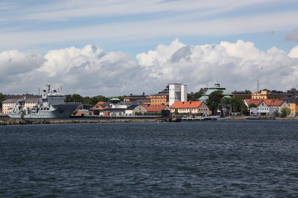 Zdjęcia: Karlskrona, Blekinge, Karlskrona - panorama miasta, SZWECJA