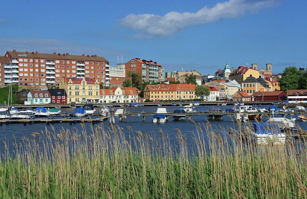 Zdjęcia: Karlskrona,  Blekinge, Z wyspy, SZWECJA