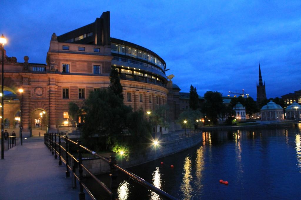 Zdjęcia: Stare miasto, Sztokcholm, Sztokcholm w nocy, SZWECJA