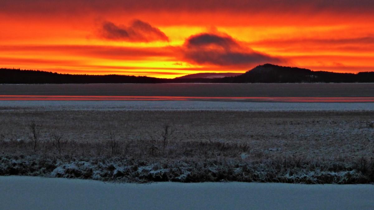 Zdjęcia: Okolice Mala-Laponia, Vasterbotten, Lapoński zachód , SZWECJA