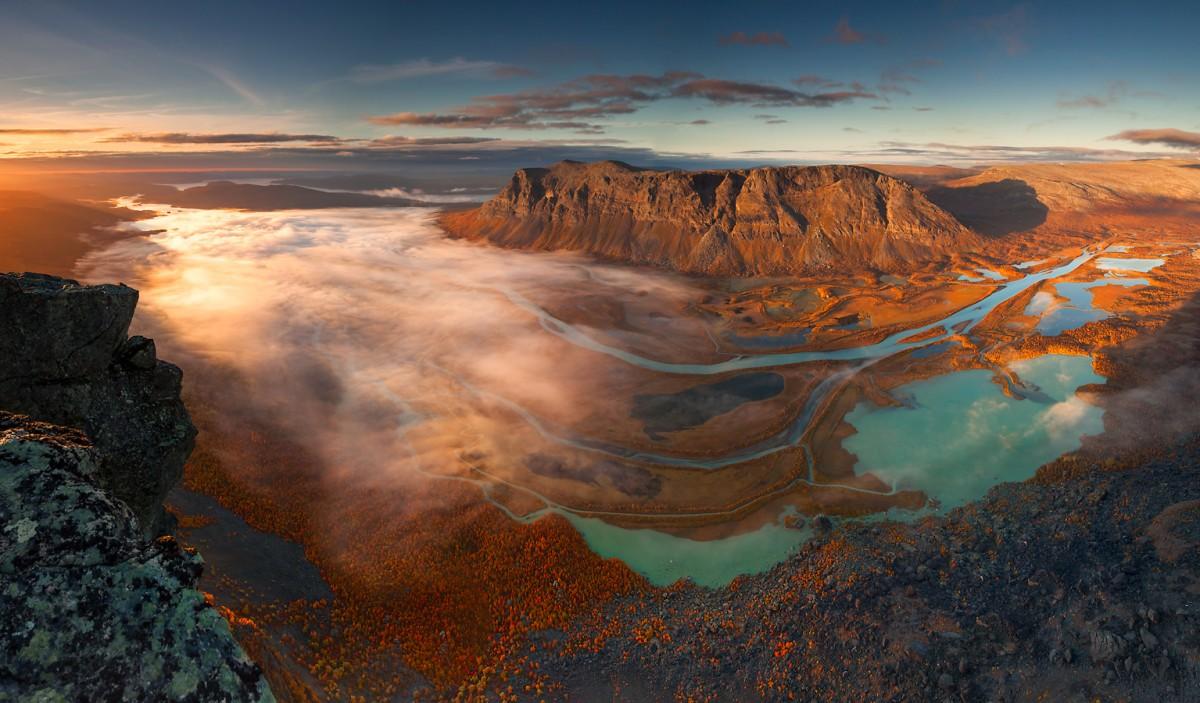 Zdjęcia: Park Narodowy Sarek, Laponia, Rapadalen, SZWECJA