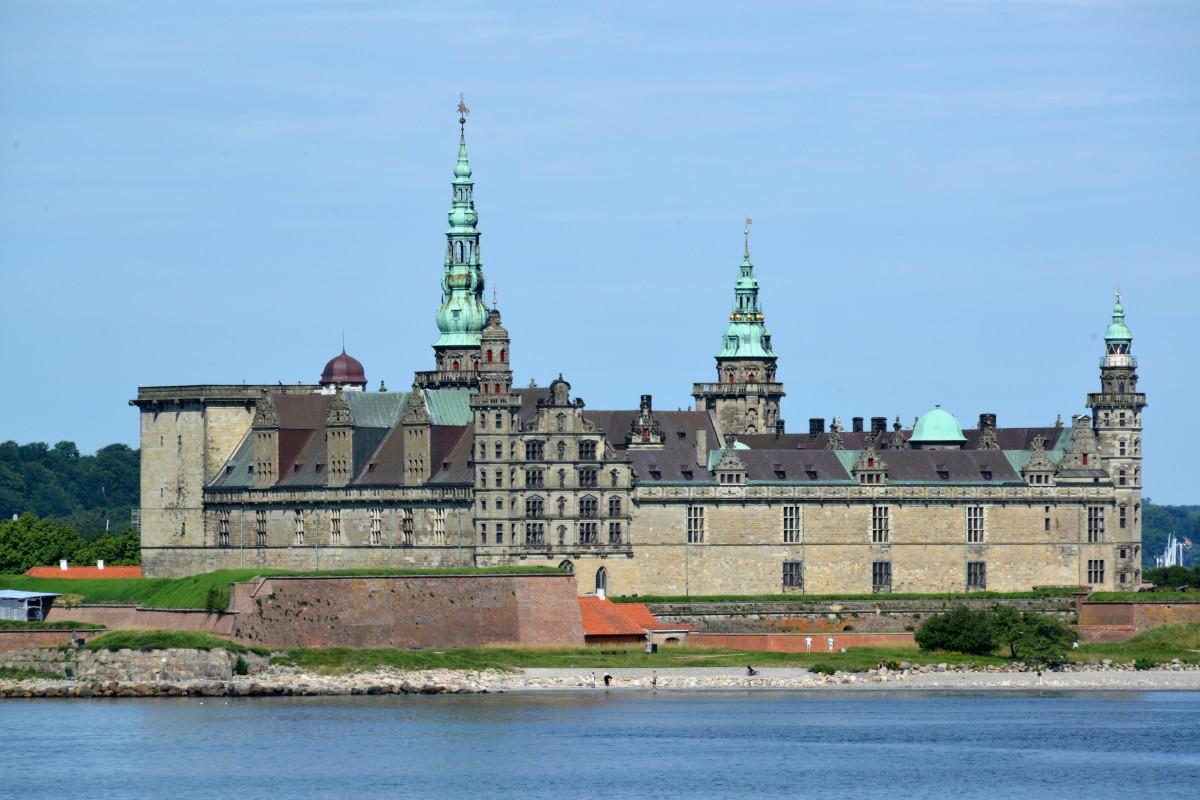 Zdjęcia: Helsingør, Cieśnina Sund, Kronborg - zamek Hamleta, DANIA
