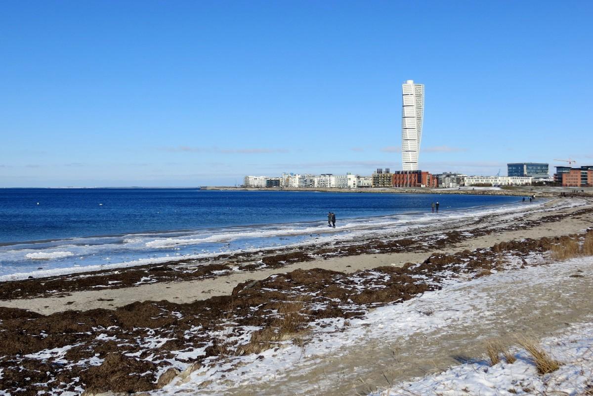 Zdjęcia: Malmo, Skania, w zatoce Öresund..., SZWECJA
