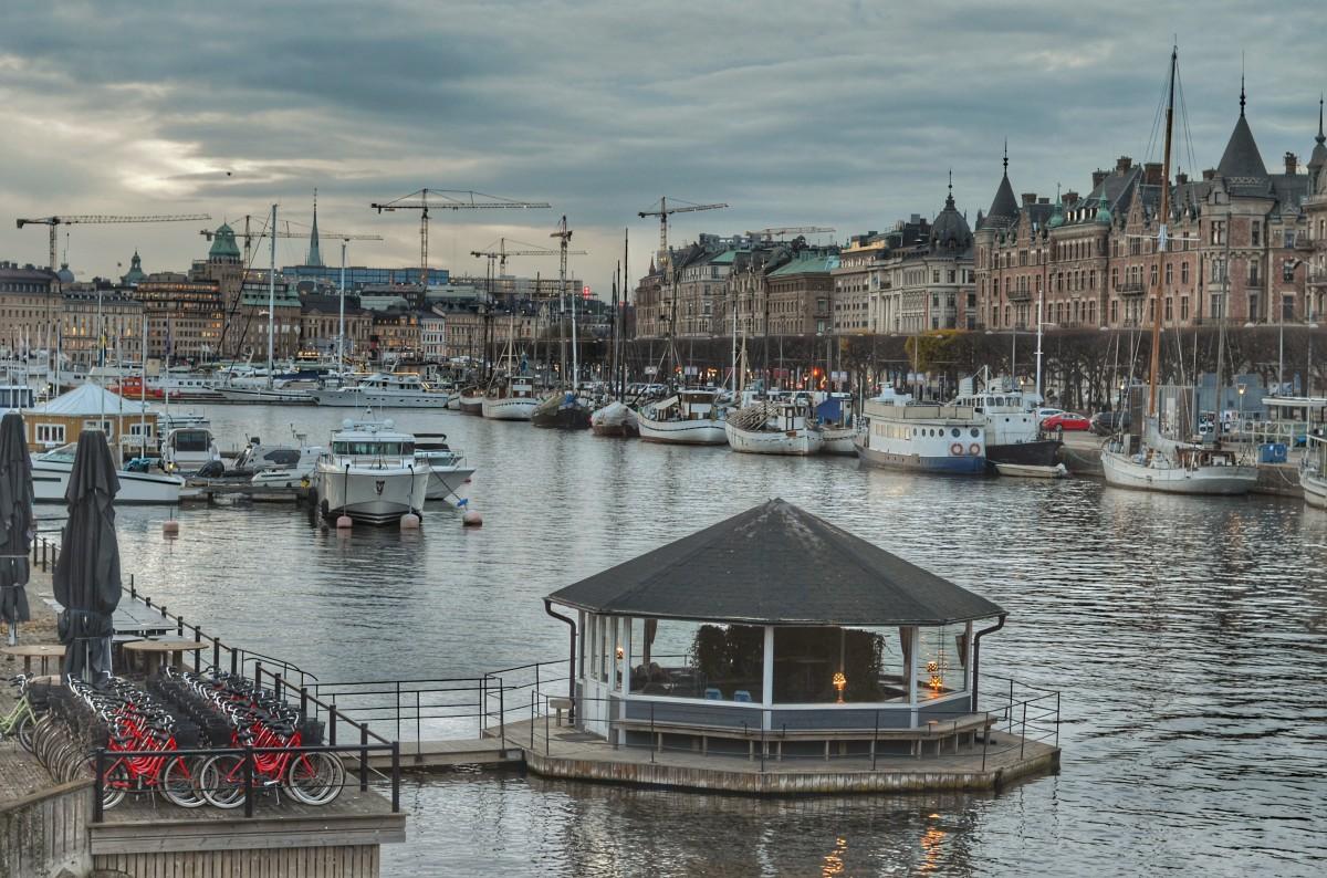 Zdjęcia: Sztokholm, Sztokholm, Djurgårdsbron, SZWECJA