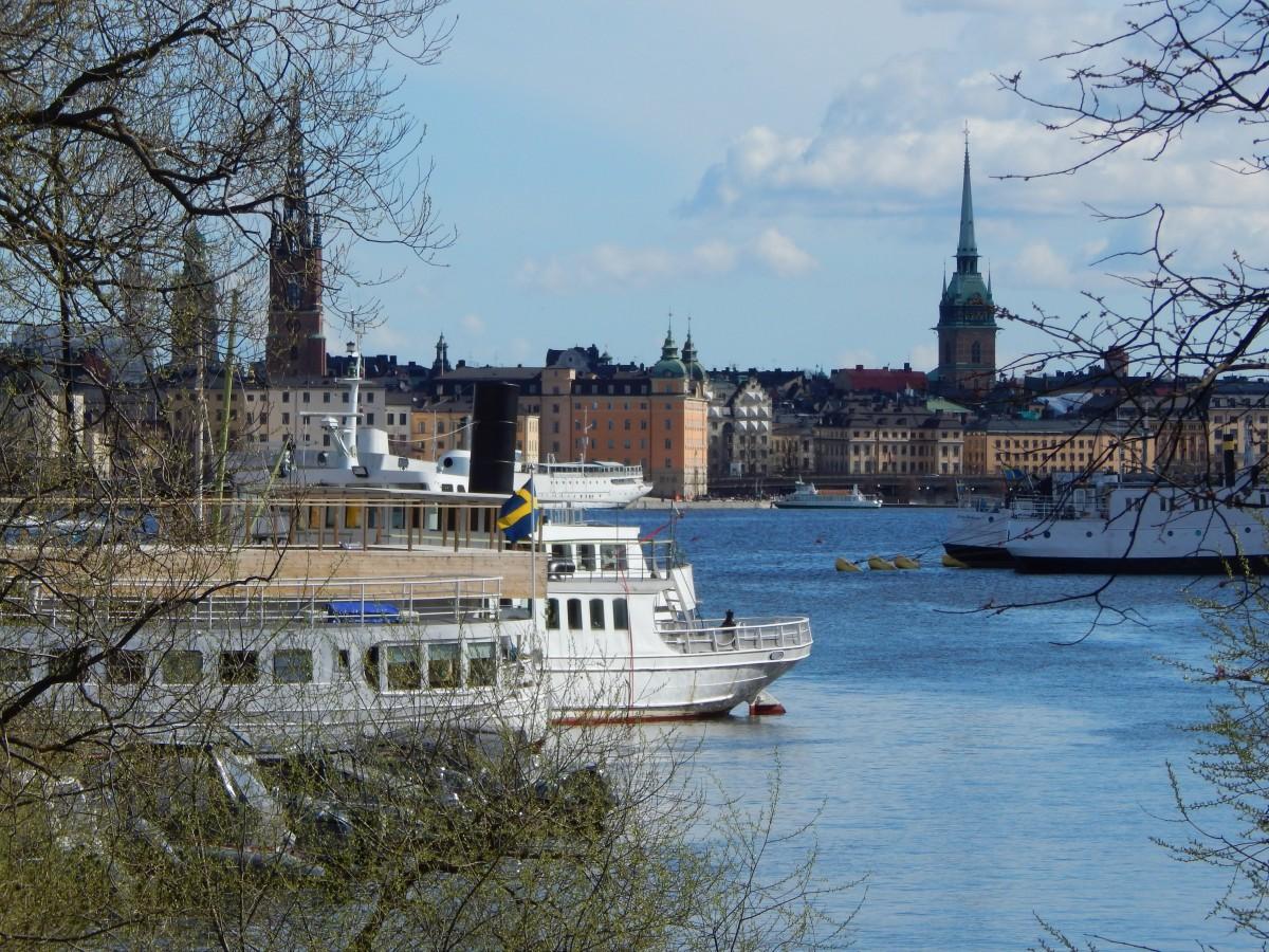 Zdjęcia: Sztokholm, Sztokholm, Wiosenny kadr, SZWECJA