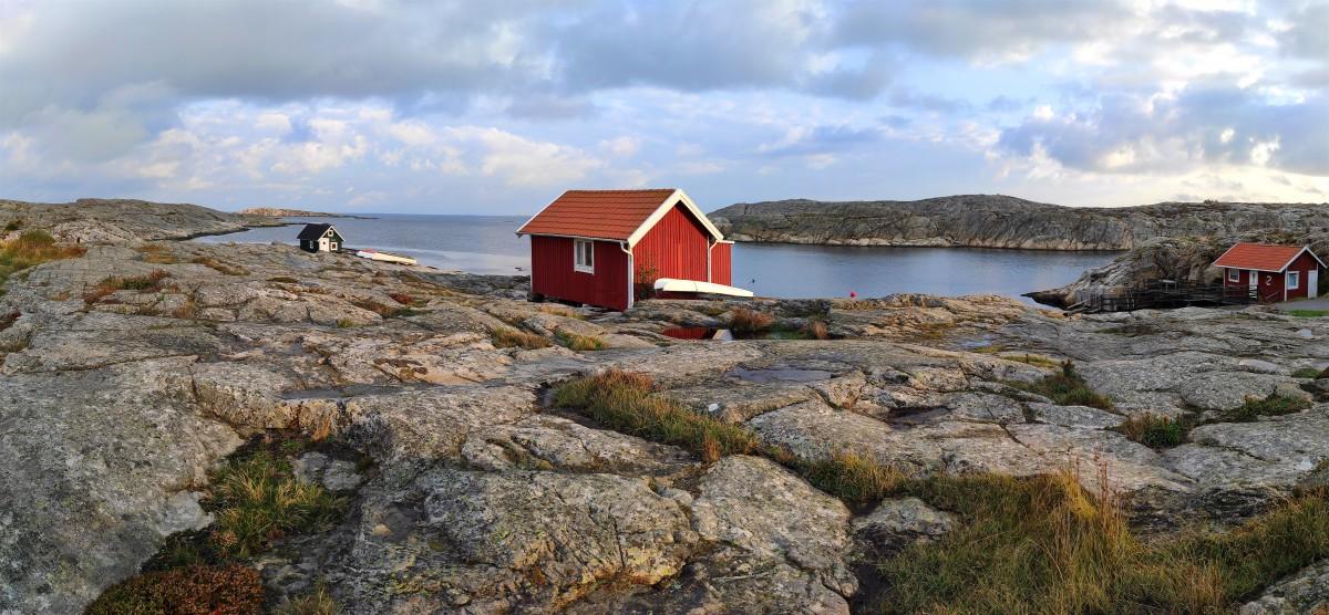 Zdjęcia: Smögen, Szwecja zachodnia, Jedna z wielu zatok w Smögen, SZWECJA