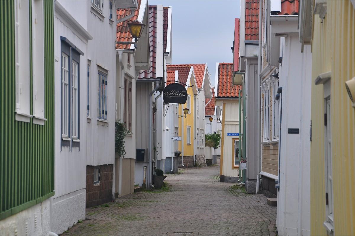 Zdjęcia: Lysekil, Szwecja zachodnia, Spacery wąskimi uliczkami, SZWECJA